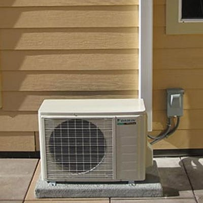 ductless air conditioning services
