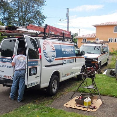hvac gas line installation
