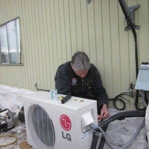 installing lg ductless heat pump system portland or 2 300x300 1