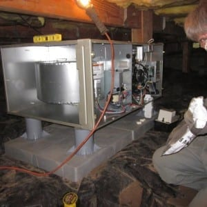 new high efficiency gas furnace and all new ductwork installation in a crawl space in oregon city or 1 300x300 1